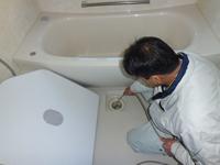 住宅・マンションなどの排水管高圧洗浄